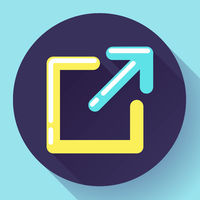 External Link Icon - user will know they are leaving the app to visit an external website