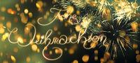 weihnachten karte schriftzug text gold