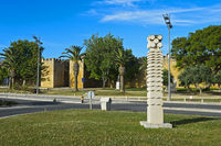 Mauer der Stadtbefestigung, Festung Lagos, Lagos, Algarve, Portugal