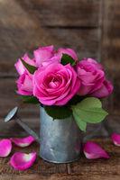 Kleiner Blumenstrauss aus Rosen