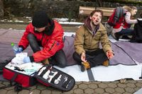 Bulgarian Red Cross Youth Paramedics volunteers