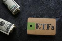 ETFs with cash