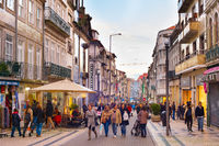Santa Catarina street shopping Porto