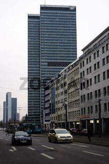 Verkehr Mainzer Landstraße Frankfurt