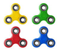 Set of spinners