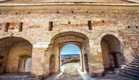 The old town of Bergamo Lomardei Italy