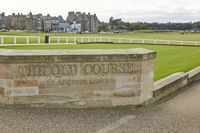 St. Andrews Clubhouse and Golf Course of the Royal  Ancient where golf was founded in 1754, considered by many to be the