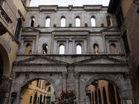 glimpses of palaces in Verona