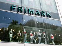 Primark logo sign on storefront
