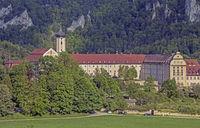 Kloster, Erzabtei Beuron im Donautal