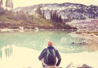 Mountains lake