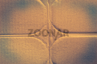 Grunge carton texture. Crumpled old dirty cardboard distressed and industrial background design.