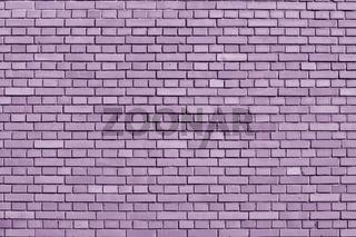 Crocus Petal colored brick wall background