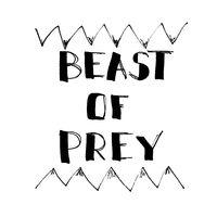 Beast Of Prey - Lettering