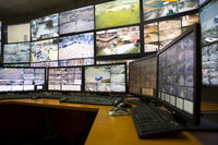 City surveillance control center