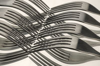 Photo of wavy forks