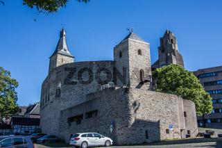 Burg Bensberg mit Rathaus