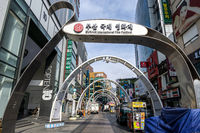 biff square in busan