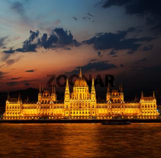 Budapest Parliament facade