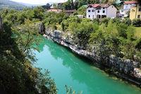 Slowenien, Kanal ob Soča