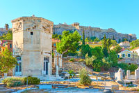 Ruins of Roman Forum  and Acropolis hill