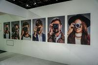 Photokina Exhibition interior in Cologne, Germany