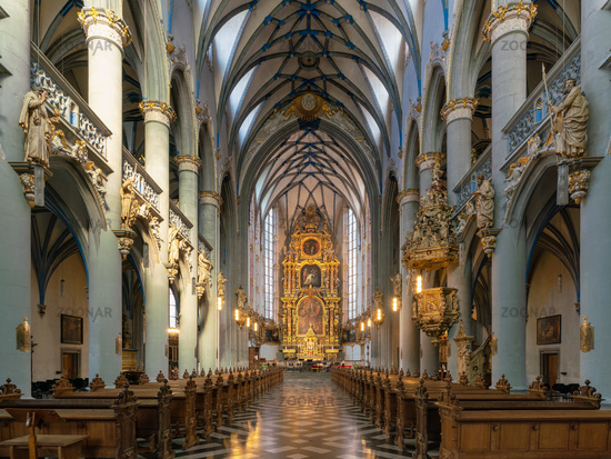 Church Assumption of Mary, Cologne, Germany