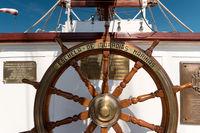 KIEL, GERMANY - JUNE 22, 2019: During the Kieler Woche 2019 the Spanish naval training ship