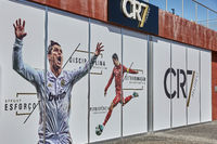 Cristiano Ronaldo Pestana CR hotel and museum on Funchal waterfront of the Portuguese island of Madeira.