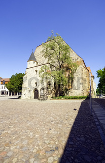 BartholomŠuskirche, Zerbst/Anhalt, Sachsen-Anhalt, Deutschland