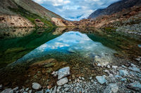 Deepak Tal lake in Himalayas