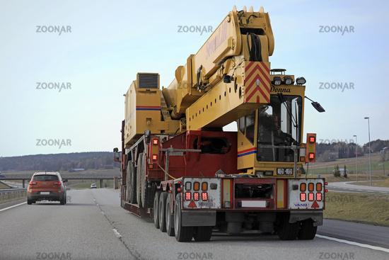 Passing Heavy Transport on Motorway