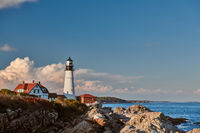 Portland Head Lighthouse, Maine, USA.