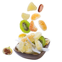 Healthy food: mix from dried fruits in a bowl