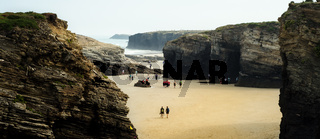 Cathedrals Beach, Cantabria, Spain