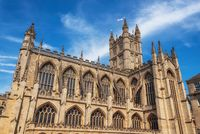 The Abbey Church of Saint Peter and Saint Paul, Bath, commonly known as Bath Abbey, Somerset England UK.
