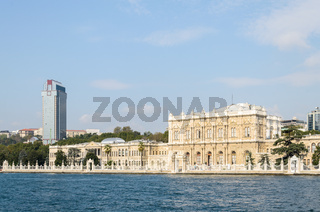 the dolmabahce palace