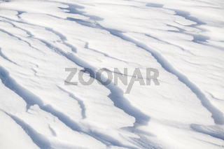 Schneestrukturen, Soeroeya, Finnmark