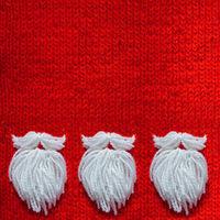 Santa Claus beard concept