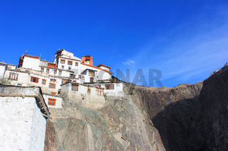 Diskit Monastery or Diskit Gompa is the oldest and largest Buddhist monastery. Nubra Valley of Ladakh, India
