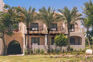 Arabian Architecture Exterior of Summer Luxury Resort Egypt Hotel