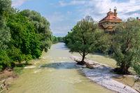 River Isar in Munich
