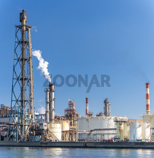 Chemical Factory plant