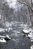 Bodetal im Harz Winterlandschaft