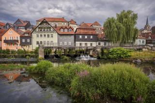 Panorama von der Altstadt Kronach in Oberfranken