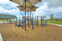 Wood chip playground in Utah