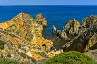 Treppe zum Camilo Strand, Praia do Camilo, Lagos, Algarve, Portugal