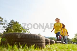 Training für Fitness und Geschicklichkeit