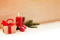 Erster Advent Hintergrund zu Weihnachten