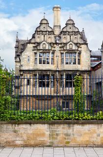 Jackson Building. Trinity College, Oxford University, Oxford, England